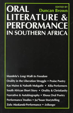 9780864863959: Oral Literature and Performance
