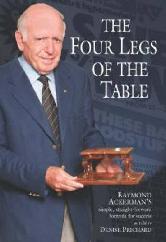 9780864866172: The four legs of the table