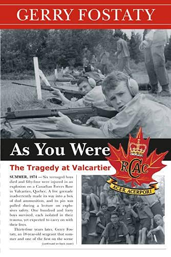 9780864926487: As You Were: The Tragedy at Valcartier