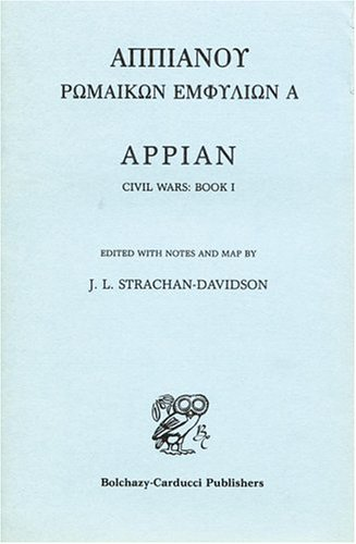 9780865160217: Appian Civil Wars, Book 1 (Bk. 1)