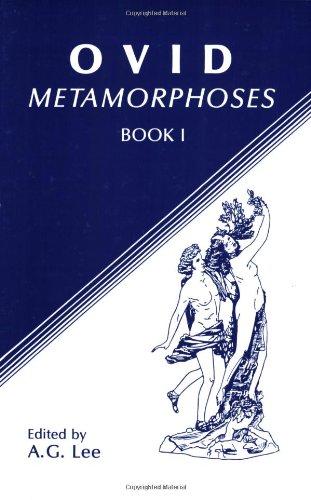 9780865160408: Ovid: Metamorphoses, Book I (Ovid - Metamorphoses) (Bk. 1)