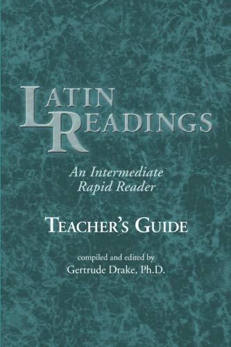 9780865160439: Latin Readings: An Intermediate Rapid Reader (Teachers Edition)