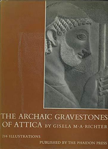 9780865162112: The Archaic Gravestones of Attica