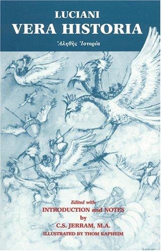 9780865162402: Lucian: Vera Historia (Greek Edition)
