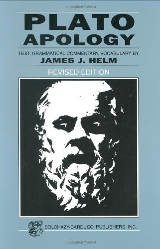 9780865163485: Plato: Apology (Greek Edition) (Greek and English Edition)