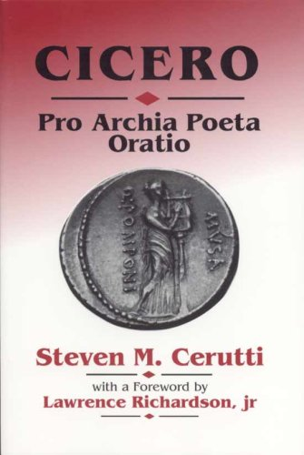 9780865164024: Cicero: Pro Archia Poeta Oratio (Latin Edition)