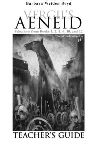 9780865164819: Teacher's Guide for Vergil's Aeneid: Selections from Books 1, 2, 4, 6, 10, and 12 (Latin Edition)