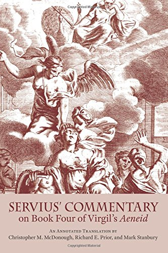 9780865165144: Servius' Commentary on Book Four of Virgil's