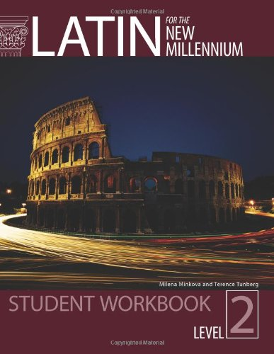 Latin for the New Millennium Student Text,: Milena Minkova, Terence