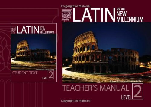 9780865165656: Latin for the New Millennium: Level 2 (English and Latin Edition)