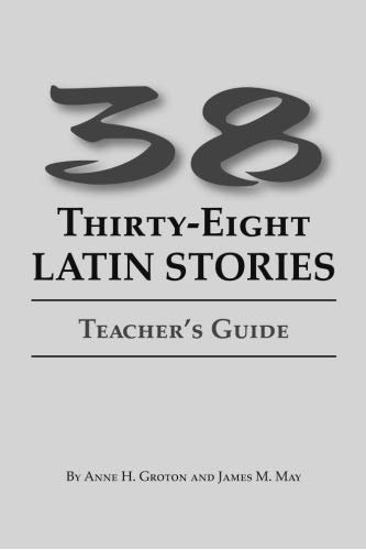 9780865165915: 38 Latin Stories Teacher's Guide
