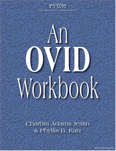 9780865166257: An Ovid Workbook (Latin Literature Workbook) (Latin Edition) (Latin and English Edition)