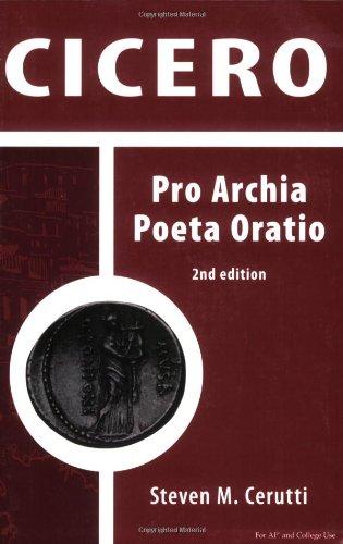9780865166424: Cicero: Pro Archia Poeta Oratio (Latin Edition)