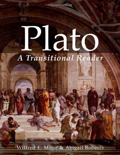 9780865167216: Plato: A Transitional Reader (Ancient Greek Transitional Reader Series) (Ancient Greek and English Edition)