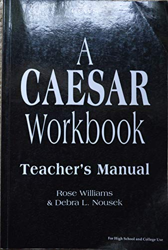 9780865167551: Caesar Workbook Teacher's Manual