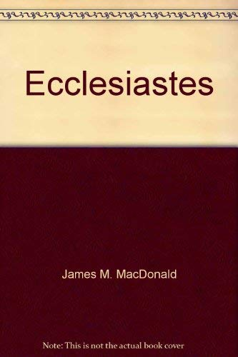 9780865240919: The book of Ecclesiastes Explained