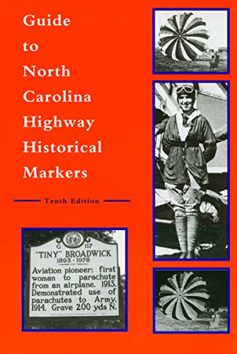 9780865263284: Guide to North Carolina Highway Historical Markers