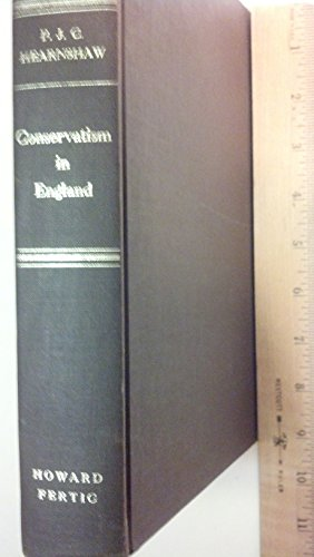 9780865270312: Conservatism in England: An Analytical, Historical, and Political Survey