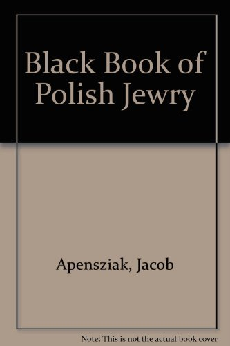 9780865273405: Black Book of Polish Jewry