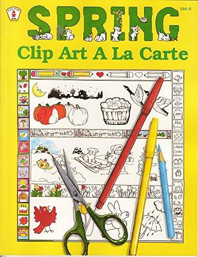 9780865302020: Spring: Clip Art a LA Carte (Kids' Stuff)