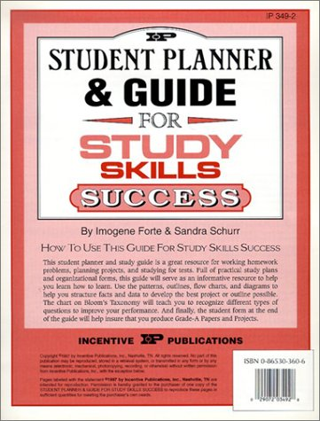 9780865303607: Student Planner and Guide for Study Skills Success