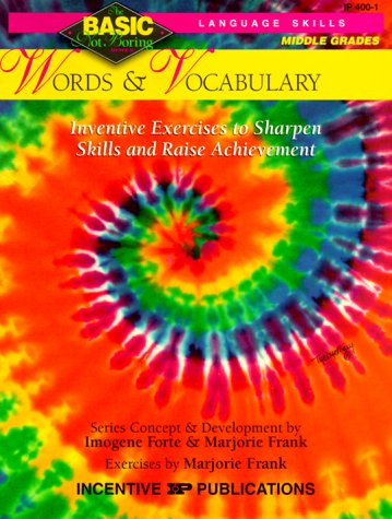 9780865303614: Words & Vocabulary Basic/Not Boring 6-8+: Inventive Exercises to Sharpen Skills and Raise Achievement (Basic, Not Boring 6  to  8)