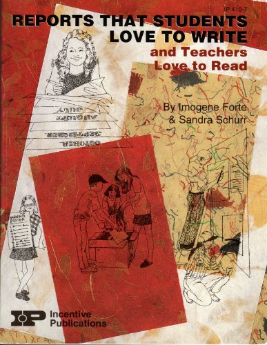 9780865304048: Reports That Students Love to Write & Teachers Love to Read (Kids's Stuff Series)