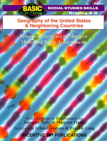 9780865304086: Map Skills & Geography Grades 4-5: Inventive Exercises to Sharpen Skills and Raise Achievement (BNB)