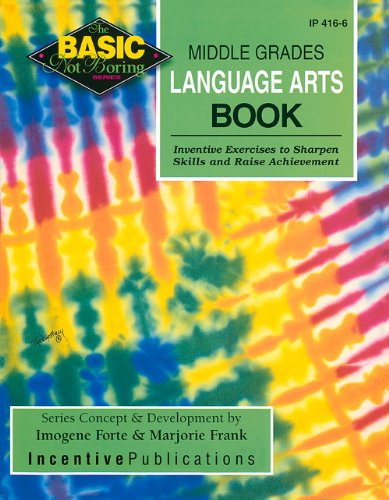 9780865304581: Middle Grades Language Arts Book (BNB)
