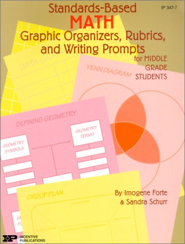 9780865304918: Standards-Based Math: Graphic Organizers, Rubrics, and Writing Prompts for Middle Grade Students (Standards-based Graphic Organizers & Rub)