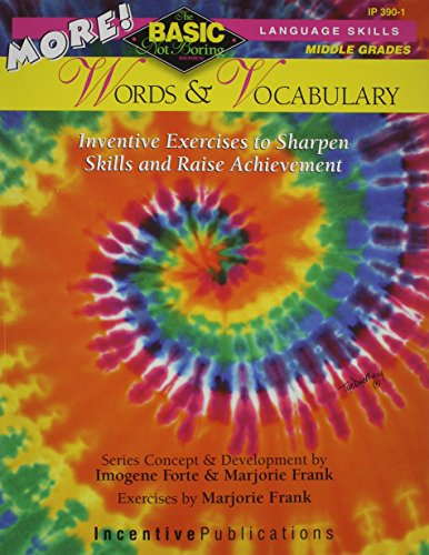 9780865305007: More! Words & Vocabulary: Basic/Not Boring: Inventive Exercises to Sharpen Skills and Raise Achievement