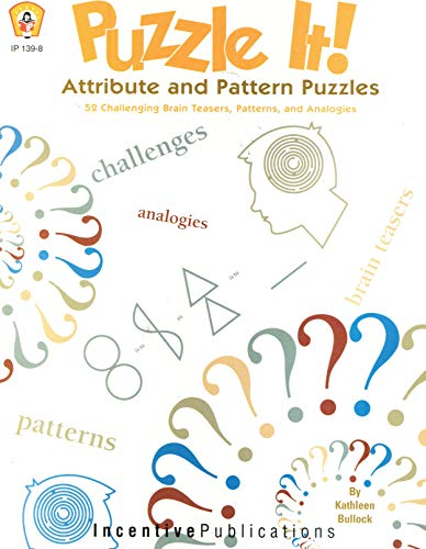 Puzzle It (0865305196) by Kathleen Bullock