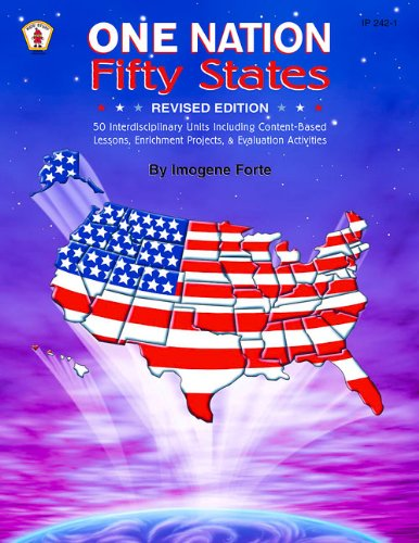 9780865305649: One Nation Fifty States: 50 Interdisciplinary Units Including Content-Based Lessons, Enrichment Projects, & Evaluation Exercises (Kids' Stuff)