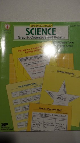 9780865306288: Standards Based Science Graphic Organizers and Rubrics