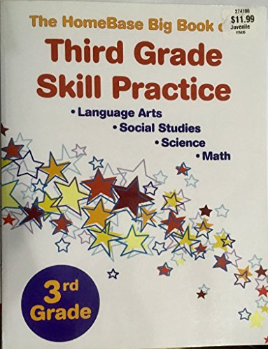 9780865309715: The Homebase Big Book of 3rd Grade Skill Practice