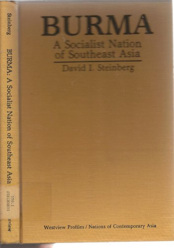 9780865311756: Burma: A Socialist Nation of South-east Asia (Nations of Contemporary Asia)