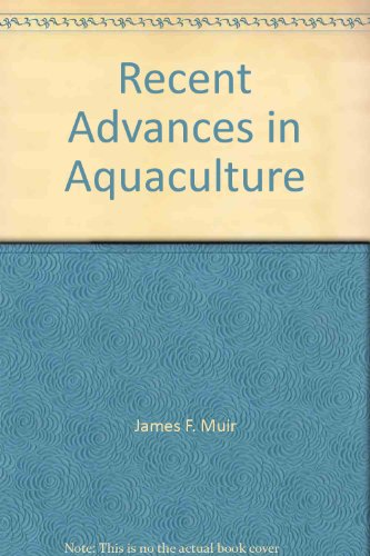 9780865314641: Recent Advances In Aquaculture