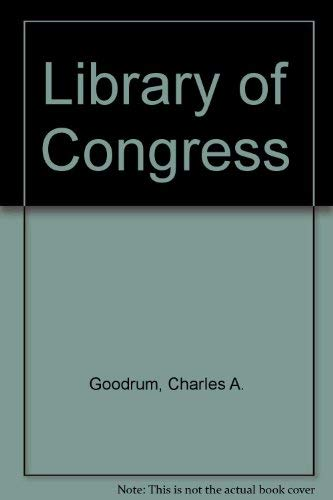 9780865314979: The Library Of Congress (Westview Library of Federal Departments, Agencies, and Syste)