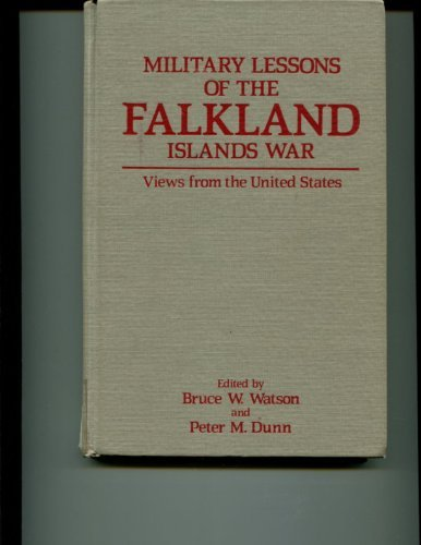9780865316935: Military Lessons of the Falkland Islands War: Views from the United States (Westview's special studies in military affairs)