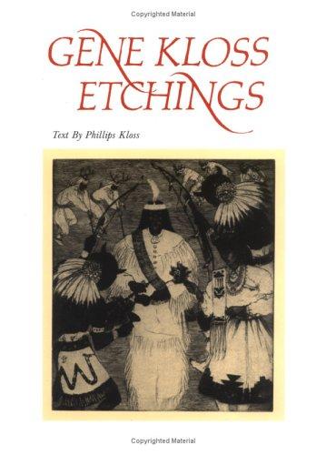 Gene Kloss Etchings: Phillips Kloss