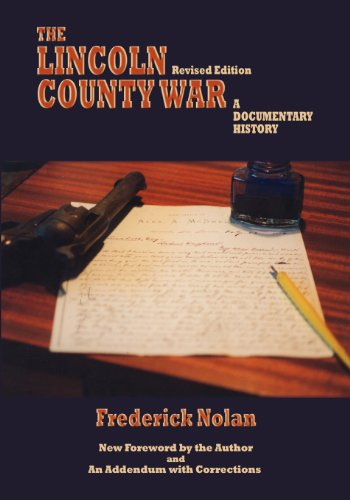 9780865347212: The Lincoln County War, A Documentary History (Southwest Heritage)