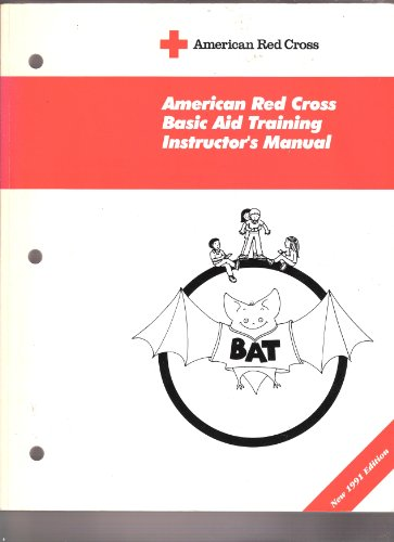 American Red Cross basic aid training instructor's manual