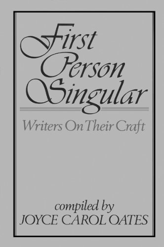 9780865380455: First Person Singular: Writers on Their Craft