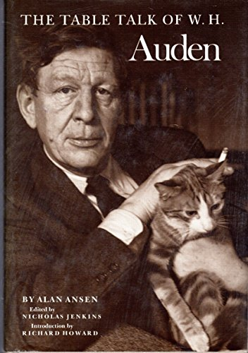 9780865380721: The Table Talk of W.H. Auden