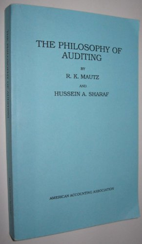 9780865390027: Philosophy of Auditing