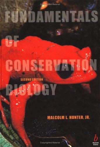 9780865420298: Fundamentals of Conservation Biology
