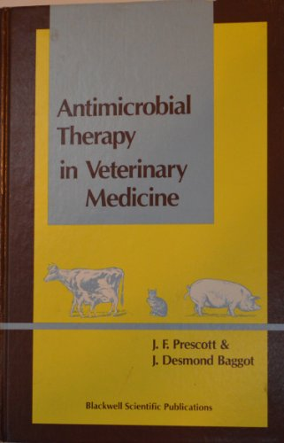 9780865420496: Antimicrobial Therapy in Veterinary Medicine