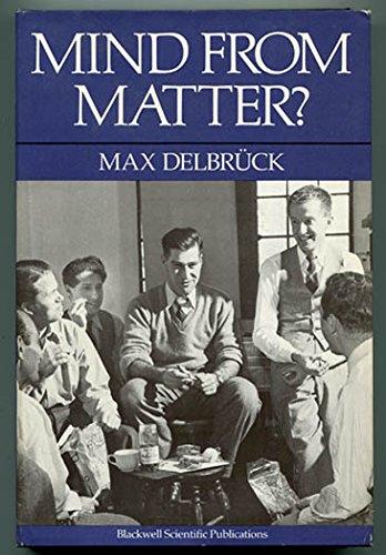 9780865423060: Mind from matter?: An essay on evolutionary epistemology