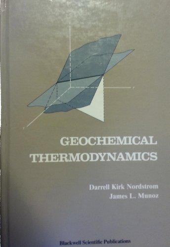9780865423190: Geochemical Thermodynamics