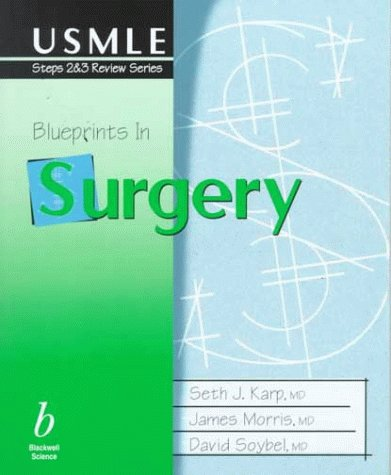 9780865425460: Blueprints in Surgery